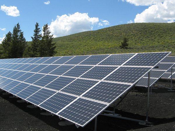 solar panel array, power, sun